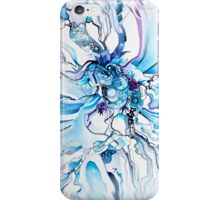 Sub-Atomic Stress Release Therapy - Watercolor Painting iPhone Case/Skin