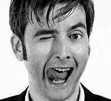 David Tennant being his usual amazing self by Annika Pelkey