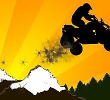 atv dirt trail by maydaze