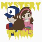 Mystery Twins by zipperchan