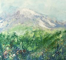 Mountain Field 1 by Deborah Townsend