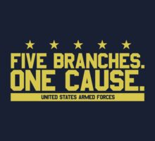 Five Branches: Navy by Mark Omlor