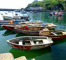Mevagissey Dinghies by mikebov