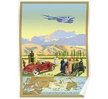 The de Havilland DH 88 Comet Record flight Poster