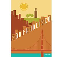 Sunny San Francisco Photographic Print