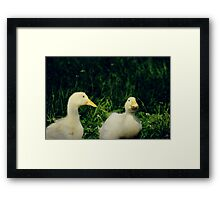 A couple Framed Print