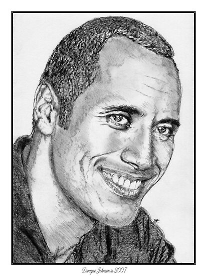 Dwayne Johnson in 2007 by JMcCombie