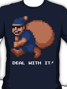 Deal With It! Blue Elf v2 T-Shirt