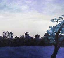 Meadow at Dusk by gingerfox13