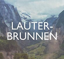 Lauterbrunnen by homework