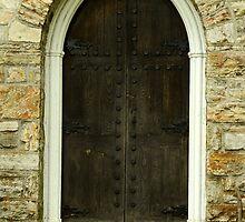Chapel Door by Joanne  Bradley