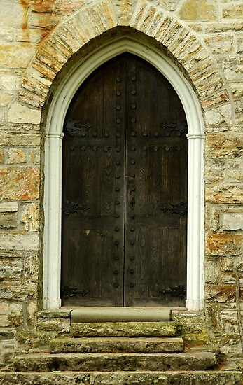 Chapel Door by Joanne  Bradley