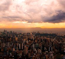 Belo Horizonte - The Cityscape from Above by ibadishi