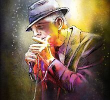 Leonard Cohen 02 by Goodaboom