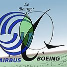 Airbus Boeing Le Bourget diagramme de Venn comique by Binary-Options