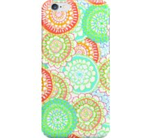 Pastel Pattern Frenzy iPhone Case/Skin