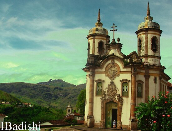 São Francisco de Assis Church, Ouro Preto, Brazil by ibadishi