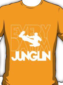 Every Day Im Junglin (White) T-Shirt