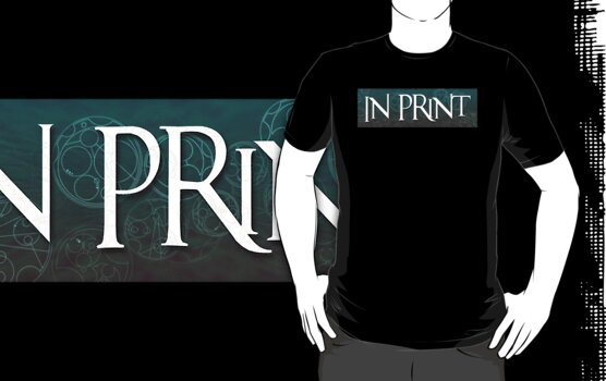 In Print Logo Tee by InPrintComic