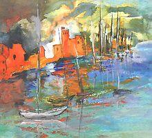 Spain - Spanish Harbour 02 by Goodaboom