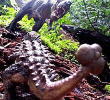 Prehistoric Showdown by Dinoczars