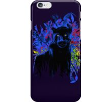Bright eyes - Black Panther iPhone Case/Skin