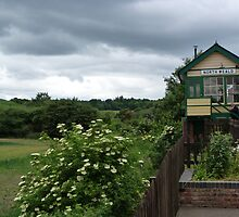Signal box in North Weald by Sandra Caven