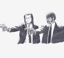 Pulp Fiction by James Lauder