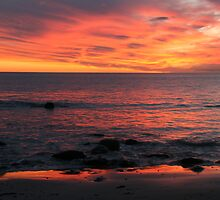 Winter sunset 2, Hallett Cove, South Australia. by elphonline
