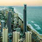 Surfers Paradise, Queensland, Australia by Michael Boniwell
