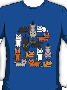 Super Kitten Pile (Just Cats) T-Shirt