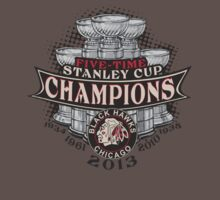 Five Time Stanley Cup Champions by DCVisualArts