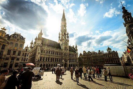 Grote Markt - Brussels by btpphoto
