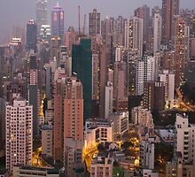 Hong Kong Island by Ben Hansen