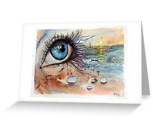 Blink of eyes - 6 Greeting Card