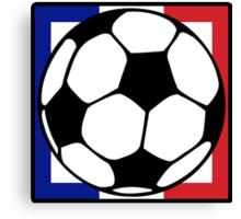 futbol : francaise square Canvas Print