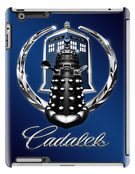 Cadalek in Tardis Blue by Magmata