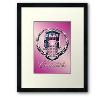 Pink Cadalek Framed Print