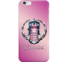 Pink Cadalek iPhone Case/Skin