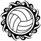 tribal volleyball by maydaze