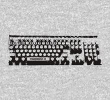 WAREHOUSE 13 - KEYBOARD by Elowrey