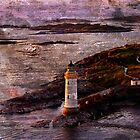 Eilean Ban Lighthouse by Ian Jeffrey