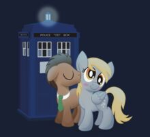 Derpy and the Doctor (My Little Pony: Friendship is Magic) by broniesunite