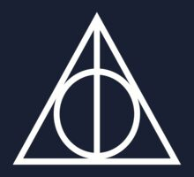 Deathly Hallows Harry Potter by AimLamb