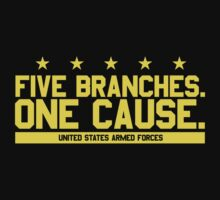 Five Branches: Army (version 2) by Mark Omlor