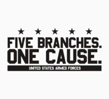 Five Branches  by Mark Omlor