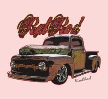 Ford Pickup Rat Rod T-Shirt by ChasSinklier