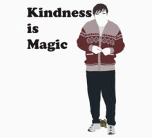 Derek (Ricky Gervais) Kindness is Magic 2 by Posteritty