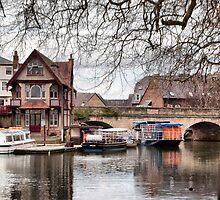 Folly Bridge, Oxford by Karen Martin