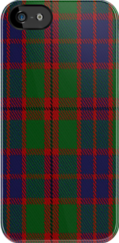 02912 Eyre Tartan Fabric Print Iphone Case by Detnecs2013